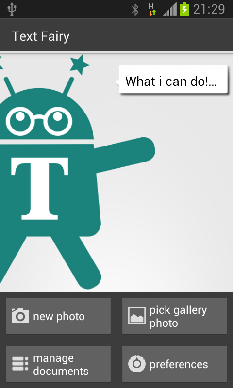 Text Fairy screenshot
