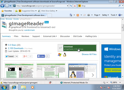 gImageReader screenshot